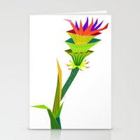 Tropical Flower2 Stationery Cards