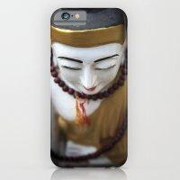 buddha iPhone & iPod Cases featuring Buddha by Maria Heyens