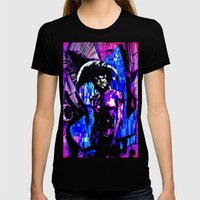Keeper Of The Crossroads Womens Fitted Tee Black SMALL