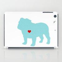 English Bull Dog Art iPad Case