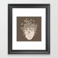 NATURE PORTRAITS 09 SIMP… Framed Art Print