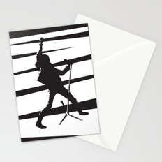 Legendary Punk Frontman Stationery Cards
