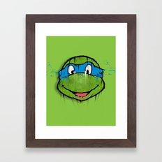 TURTLE POWER (NINJA TURTLE) Framed Art Print