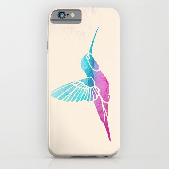Watercolor Hummingbird iPhone & iPod Case