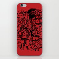 Street seller from hell iPhone & iPod Skin