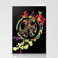 Peace & Peace Stationery Cards