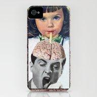 Reptilian Snack iPhone (4, 4s) Slim Case