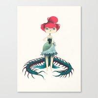 clochette Canvas Print