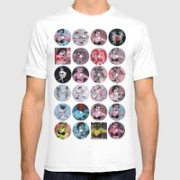 Pinup Girls Mens Fitted Tee White SMALL