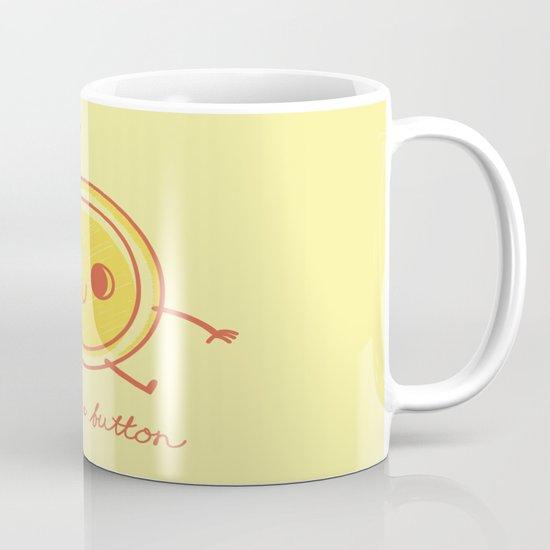Cute as a button! Mug