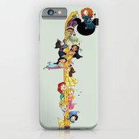 iPhone Cases featuring Welcome Princess Merida (Update)  by Katie Simpson a.k.a. Redhead-K