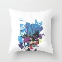 Cash Silk 002 Throw Pillow