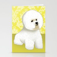 Bichon Frise Stationery Cards