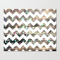 Afterparty Chevron Canvas Print