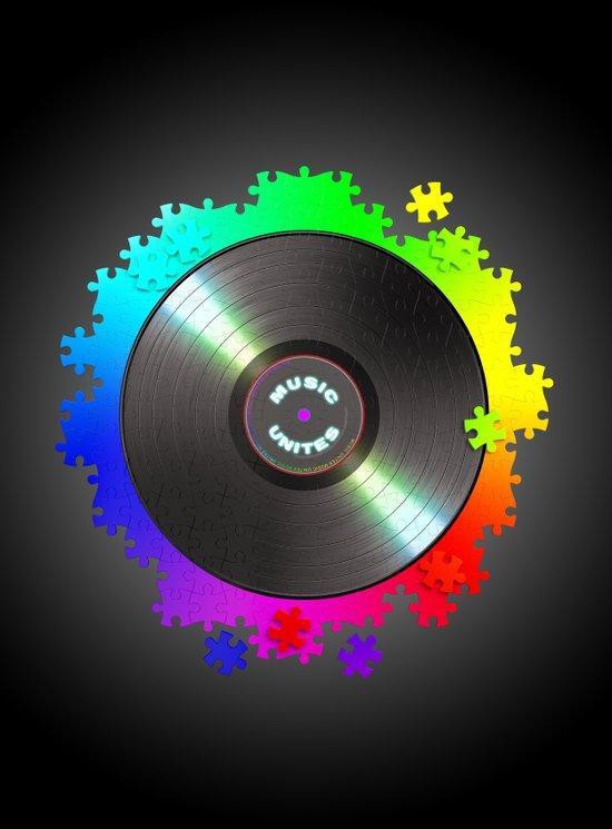 music_unites ! Art Print