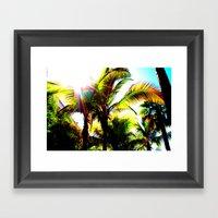 Sunny Florida Framed Art Print