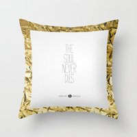 Golden Rules #5 Throw Pillow