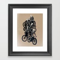 The Gang Framed Art Print