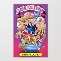 Cereal Killer Kids: Broot Loops Canvas Print
