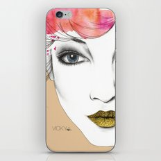 Life is a canvas, throw all the paint and sparkles on it you can iPhone & iPod Skin