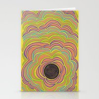 Center Circle Stationery Cards