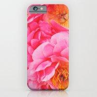 Hot Pink Peony iPhone 6 Slim Case
