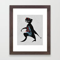 Happy Go Lucky Framed Art Print
