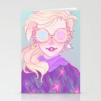 Luna Lovegood Stationery Cards