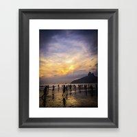 summer times Framed Art Print