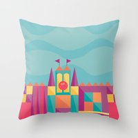 It's a small world after all | Disney inspired Throw Pillow