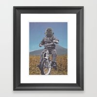 Rascal Mountain God Framed Art Print