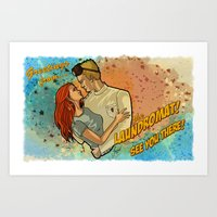 Laundry Day Art Print