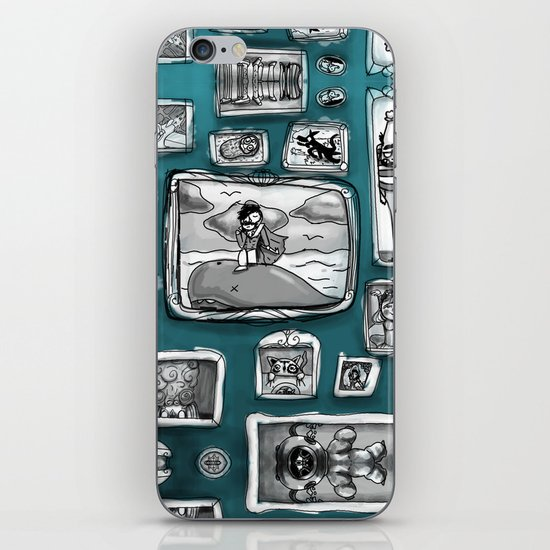 Forever Ancient Moment Immediately Later Yesterday iPhone & iPod Skin