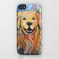 Max ... Abstract Dog Art… iPod touch Slim Case