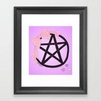 Charm Me Framed Art Print