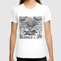 Sisters Womens Fitted Tee White SMALL