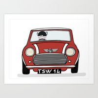 Mini I love you Art Print
