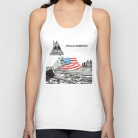 Hello America Unisex Tank Top