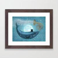 Cloud Maker  Framed Art Print