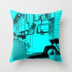 Volkswagen Van Throw Pillow