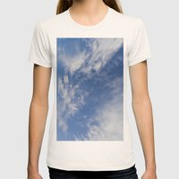 Planet Earth Womens Fitted Tee Natural SMALL