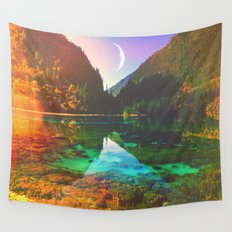 Skin Of The Night Wall Tapestry