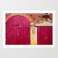 Golden Pheasant Inn Art Print