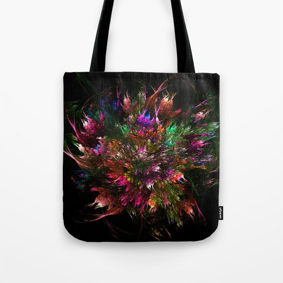 Colorful Flower Bouquet Tote Bag