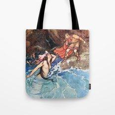 Appearance of a Mermaid Tote Bag