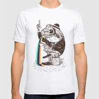 Strange Frog Mens Fitted Tee Ash Grey SMALL