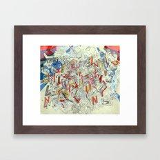 You Never Know... Framed Art Print