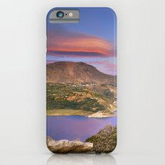 Lenticular clouds at the red sunset iPhone 6s Slim Case