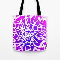 Pink & Purple Love Tote Bag