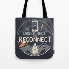 Reconnect... Tote Bag